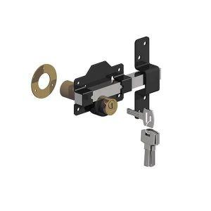 Gatemate Premium Long Throw Lock - Double Locking Stainless Steel 50mm