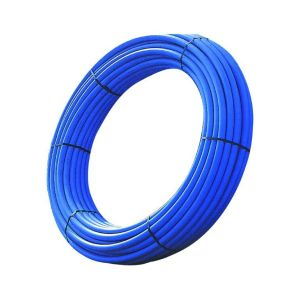 Polypipe Blue MDPE Coil 25 Metre 20mm