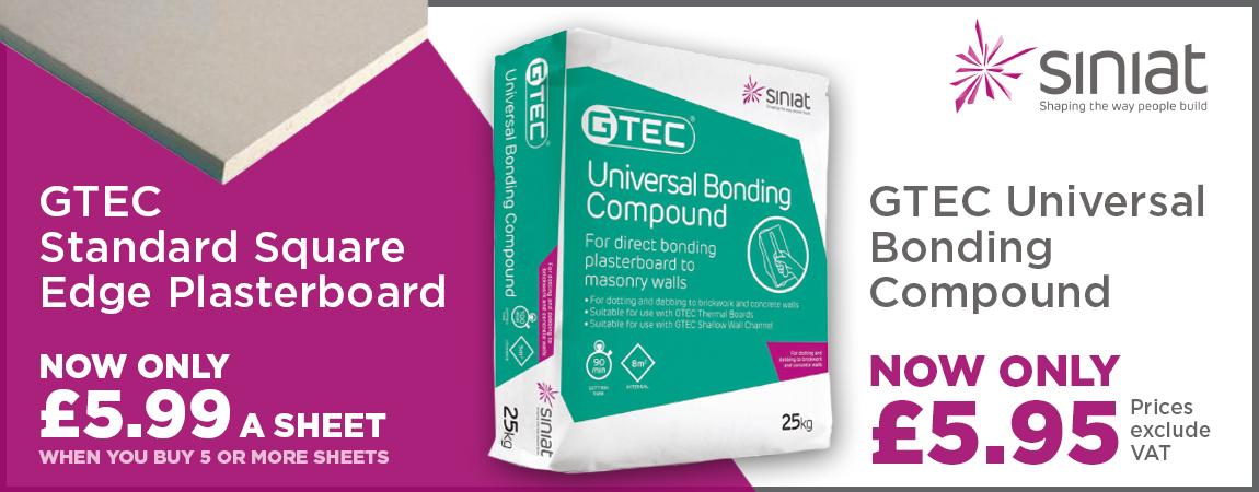 Plasterboard & Bonding Compound offer