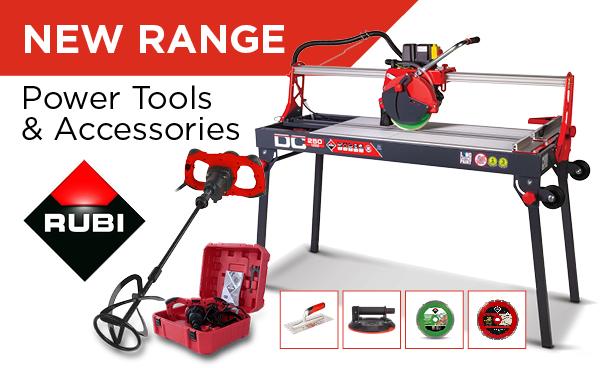 New RUBI Tools Range