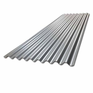 8/3 Corrugated Steel Sheet 660mm 0.5mm 2425mm Galvanised