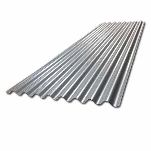 8/3 Corrugated Steel Sheet 660mm 0.5mm 2425mm Galvanised