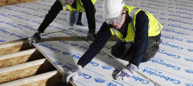 Caberdek Film Covered Chipboard Flooring