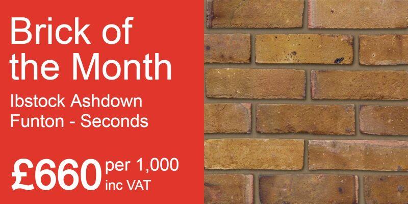 Ibstock Ashdown Funton seconds - bricks