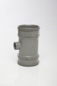 Soil Boss Pipe Grey Double Socket
