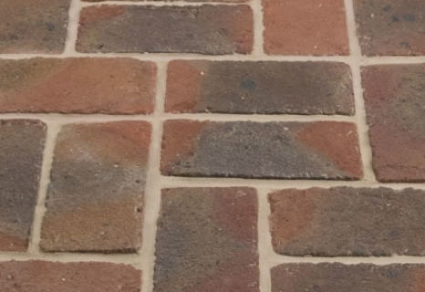 50MM RUDGWICK RED MULTI PAVER