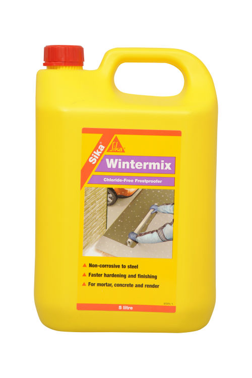 Sika Wintermix Chloride Free For Concrete