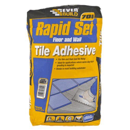 Everbuild 705 Rapid Set Tile Mortar