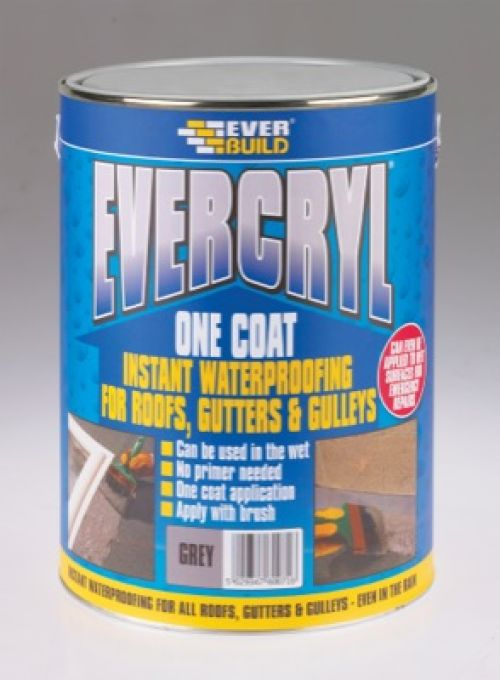 Everbuild One Coat Evercryl Roof Compound