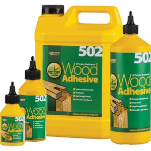 Everbuild 502 Waterproof Wood Adhesive