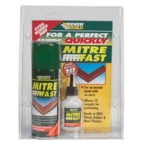 Mitre Fast Instant Adhesive Bonding Kit