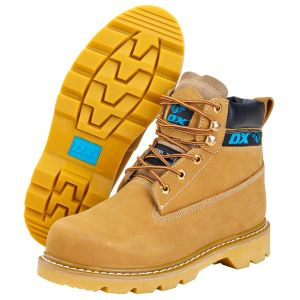 Ox Honey Nubuck Safety Boot