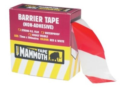 Barrier Hazard Tape