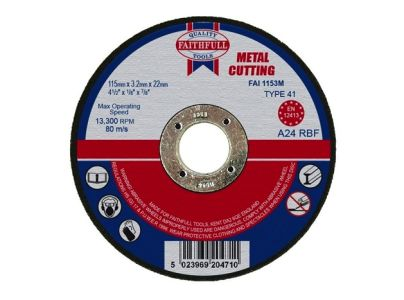 Cutting Disc Metal Flat