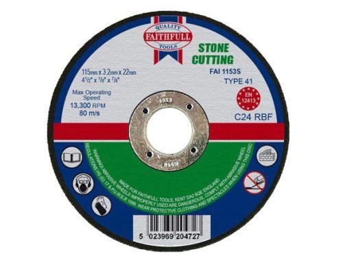 Cutting Disc Stone Flat