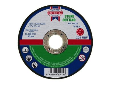 Cutting Disc Stone Flat