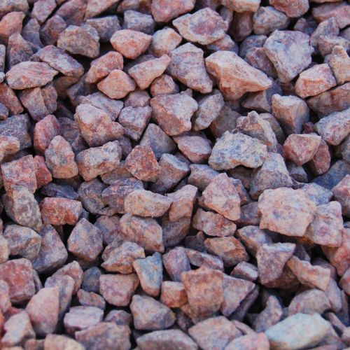 Red Granite Chippings 14mm
