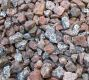 pink/grey Granite Chippings 20mm