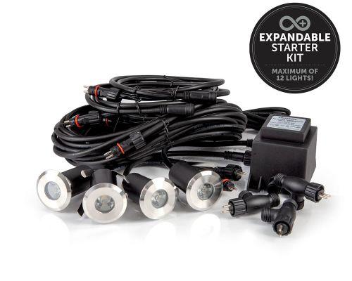 Ellumiere 12v decking light starter kit