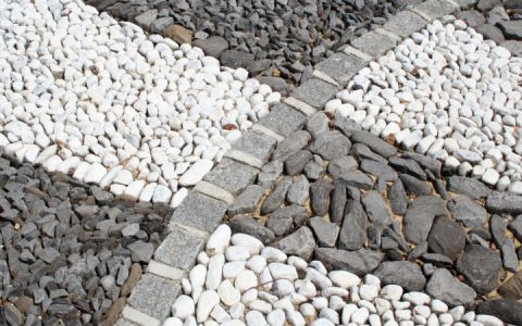 Choosing decorative aggregates