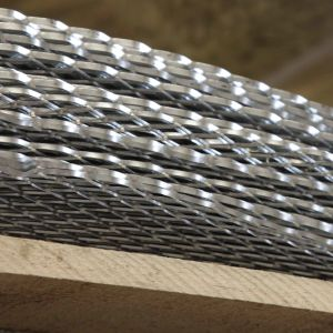 Expanded Metal Galvanised Sheeting