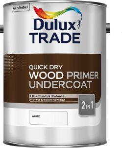 Dulux Trade Quick Dry Wood Primer Undercoat 5L 5081950