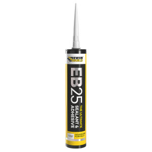 Everbuild Clear EB25 Sealant & Adhesive - 300ml