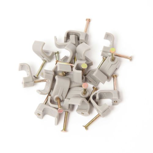 Cable Clips Flat (100's)