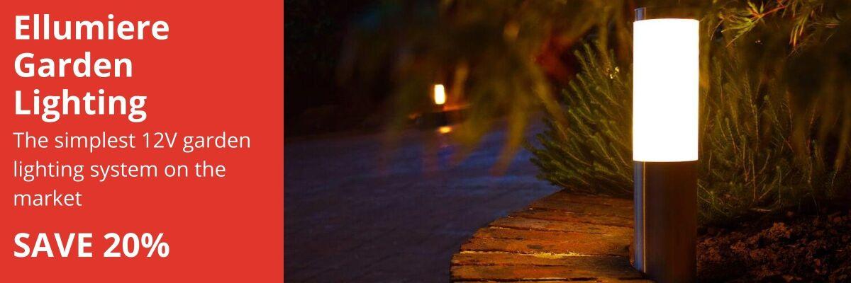 ellumiere garden lighting offer