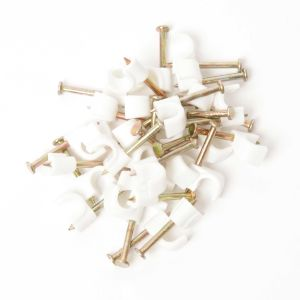 Round Cable Clips (100's)