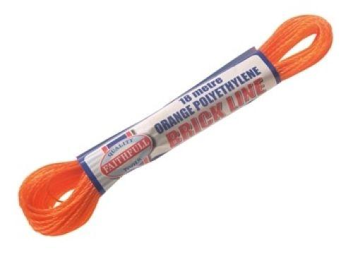Orange Poly Brick Line