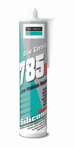 Sherwin-Williams Dow Corning 785 Bacteria Resistant 310ml White Sanitary Sealant