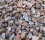 pink/grey Granite Chippings 20mm