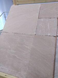 Evergreen Tumbled Indian Sandstone