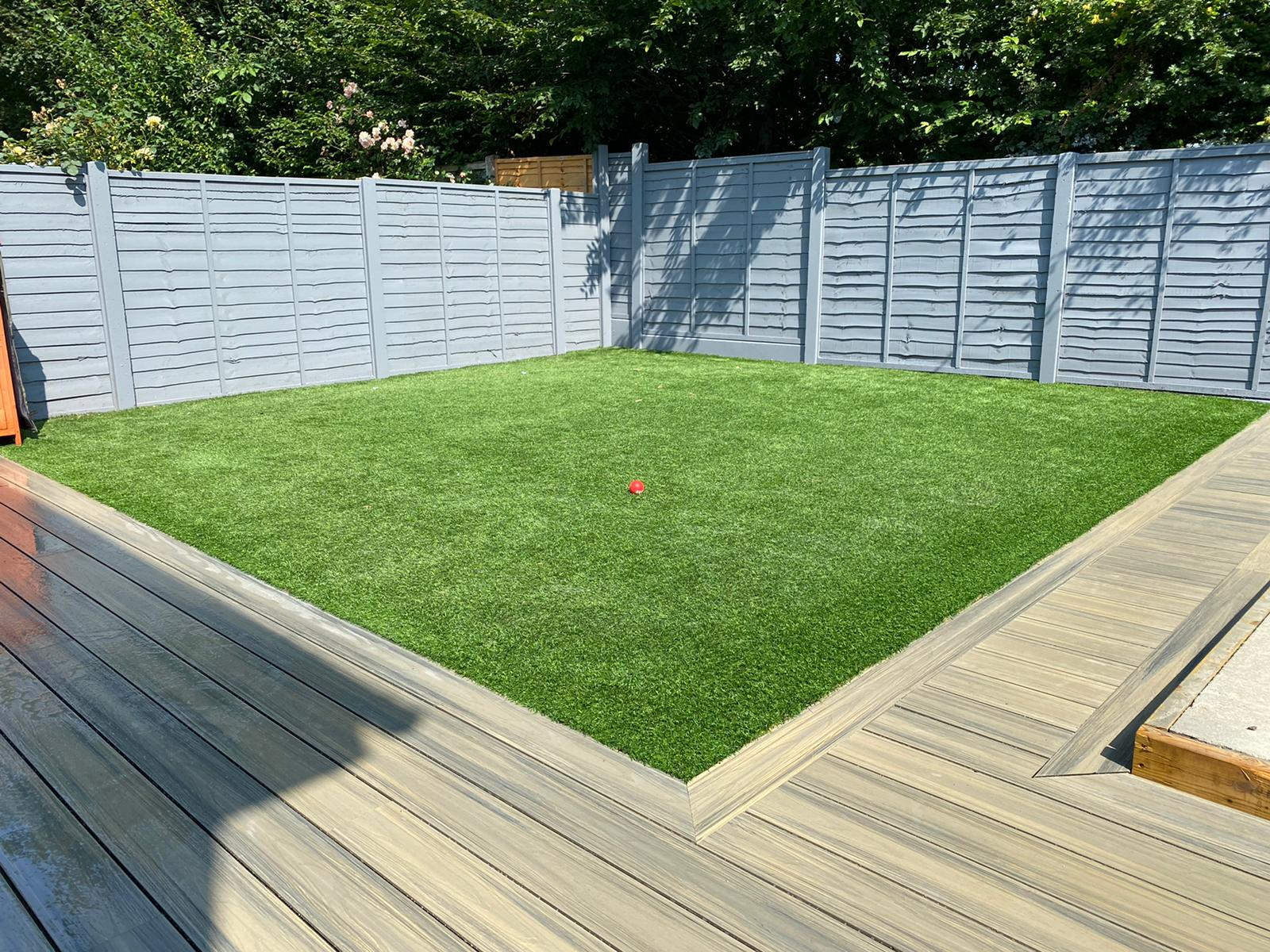 composite decking with the look and feel of timber