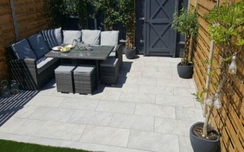Tips on laying porcelain paving