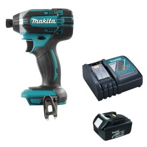 Makita DTD152Z screwdriver with free charger