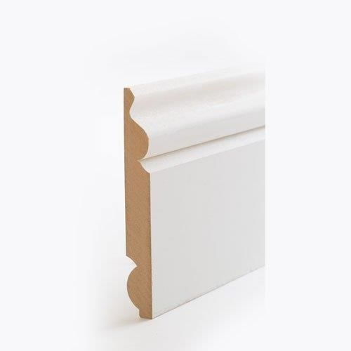 MDF Torus / Ogee Reversible Skirting 144mm x 18mm