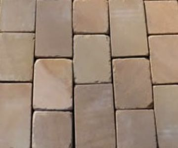 50 MM Sandstone Tumbled Paver