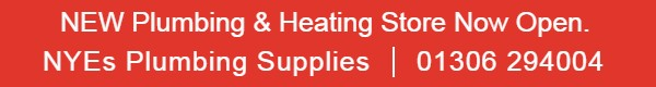 NYEs Plumbing supplies | 01306 294004