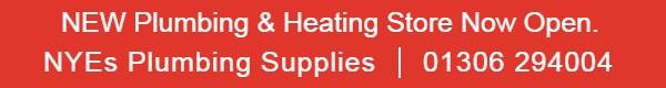 NYEs Plumbing supplies | 01306 294004
