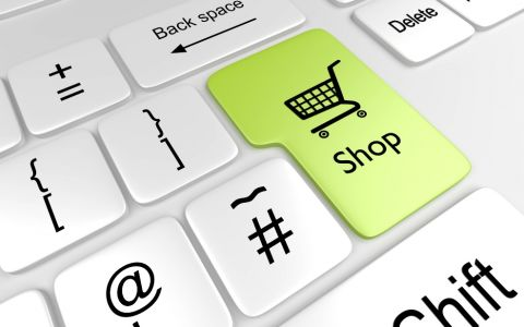 Online shopping-keyboard