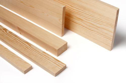 Prepared Softwood Timber - Untreated Premium Plus 12 X 28mm PAR - 3 9m  Length