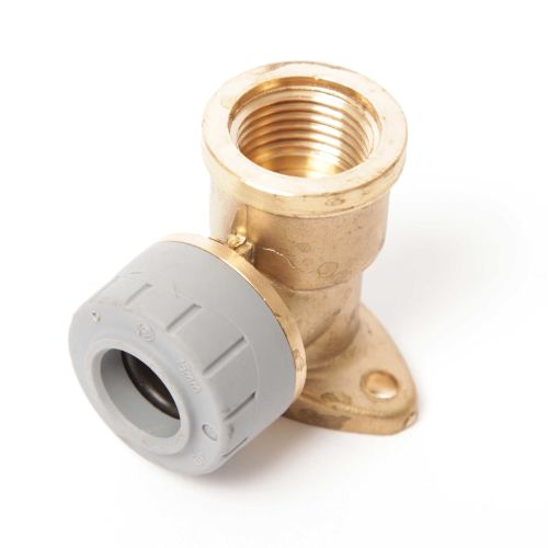 """15MM X 1/2"""" BSP WALL PLATE ELBOW"""
