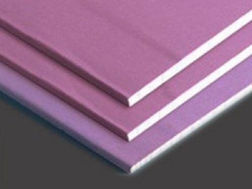 Fire Proofed Plasterboard (pink)