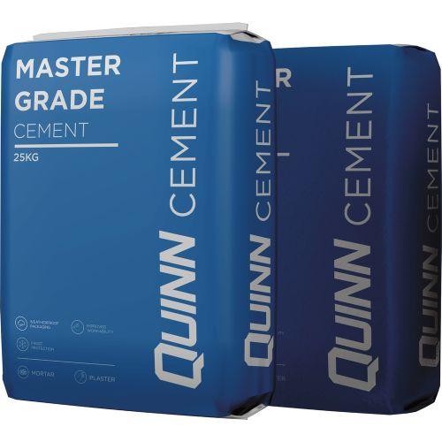 Quinn Master Grade Cement 25Kg Bag