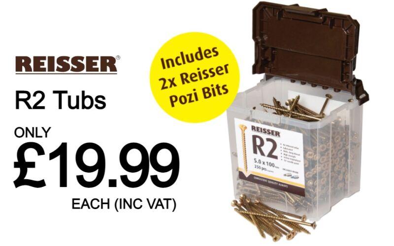 Reisser R2 Tubs in stock