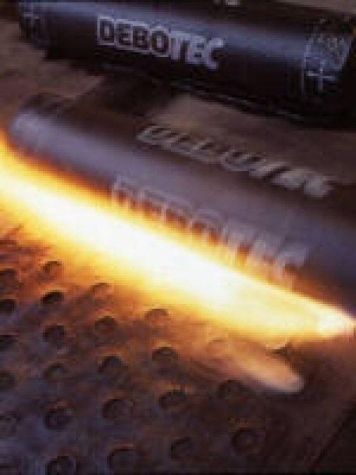 Debotec Torch On Felt