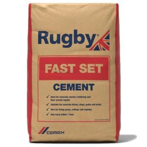Rugby Fast Set Cement 25Kg Bag