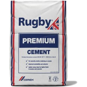 Rugby Premium Cement 25Kg bag